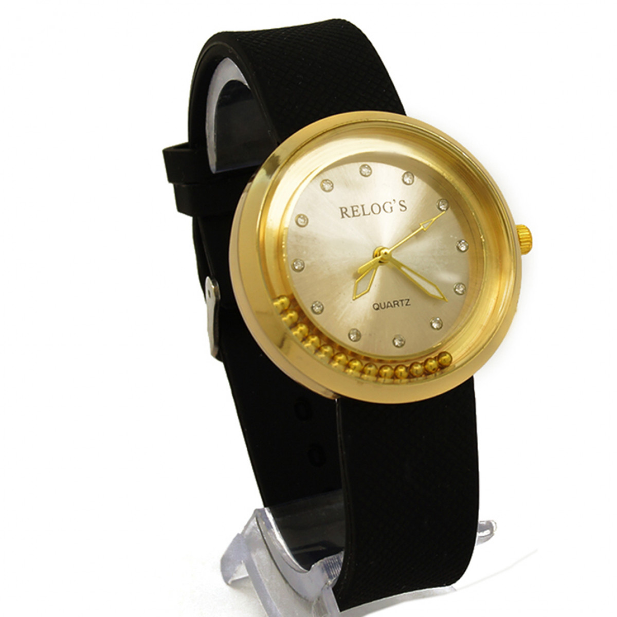 2c35188dd2c Relógio Feminino Golden   Co 43300 Analógico Relog s Preto - REL19101