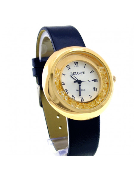 Relógio Feminino Delicate II 32047 Analógico Relog's Preto - REL19109