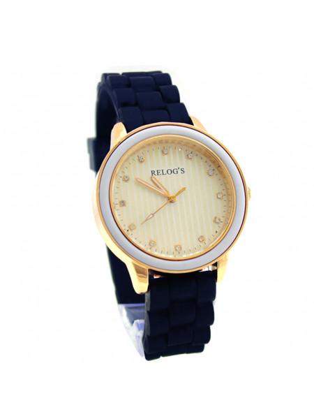Relógio Feminino Vintage 43308 Analógico Relog's Preto - REL19114