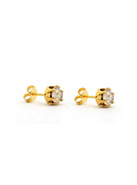 Kit Cristal Banhado Ouro 18k - KIT16484