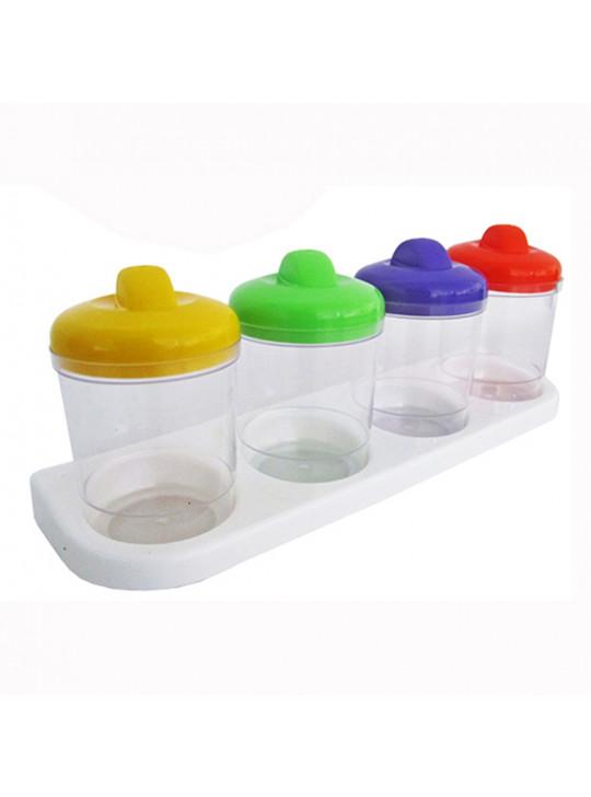 Porta Condimentos com 4 peças - DIV20124