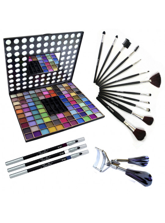 Super Kit Completo Sombras 3D + Acessórios - MAQ10163