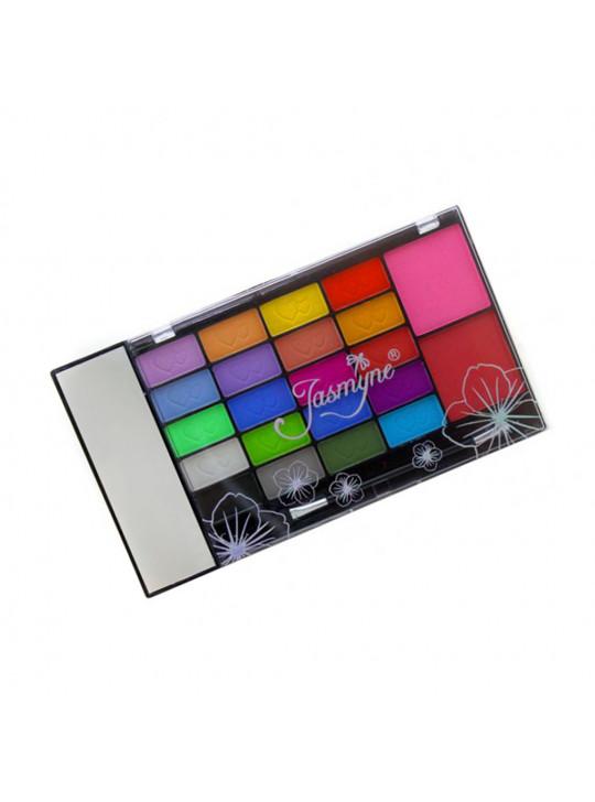 Estojo de Maquiagem Sombras Foscas Jasmyne V242 - MAQ99104