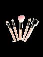 Kit com 05 Pincéis para Maquiagem Macrilan - MAQ10108 - Rosa