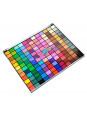 Super e Completo Estojo Sombras Jasmyne Sombras 3D - Foscas - Tradicionais V755-A - MAQ99103